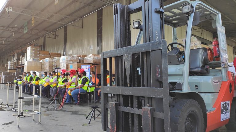 JKWH Forklift Competition
