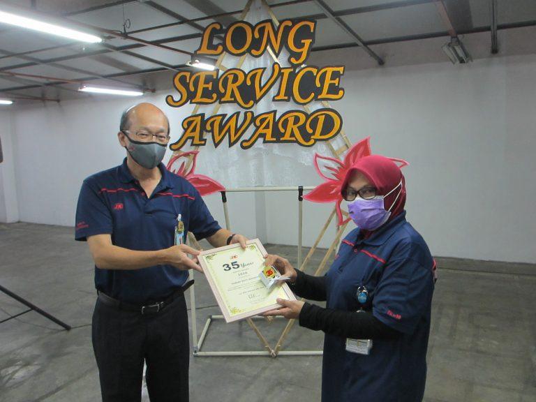 JKWH Long Service Award