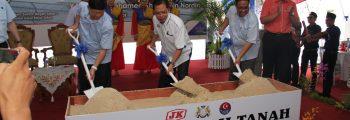 2018 Majlis Pecah Tanah for new Merlong Factory